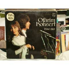 OFAR�M KONZERT 33 DEV�R LP LONG PLAY L�VE 1969
