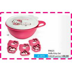 TUPPERWARE HELLO KITTY M�KS SET - kA�IRMAYINN!!
