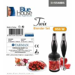 BLUEHOUSE TW�X BH5548BS 950W BLENDER SET