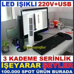 EV ve OF�S ���N SER�NLET�C� USB TOWER KULE FAN