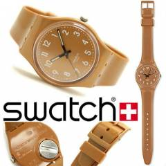 Swatch GC109 Flaky Brown Unisex Kol Saati