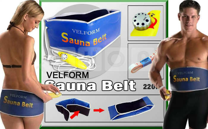 Velform Sauna Belt Is�t�c� Zay�flama Kemeri