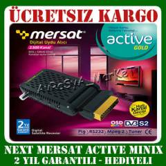 NEXT MERSAT M�N�X UYDU ALICISI ACT�VE M�N� SCART