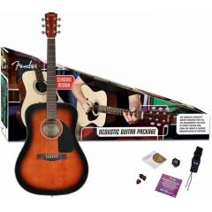 IMC FENDER CD-60 PACK V2 SUNB  AKUSTIK G�TAR SET