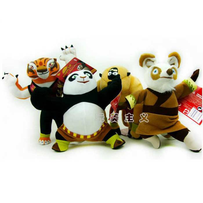 Kung fu panda pelu� oyuncaklar Shifu TIGRESS vs
