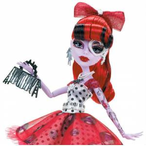 Monster High Acayip operatta