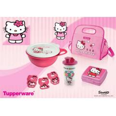 TUPPERWARE Hello Kitty Set �ocuklar Bay�lacak