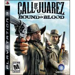 CALL OF JUAREZ: BOUND IN BLOOD PS3  �OK F�YATA