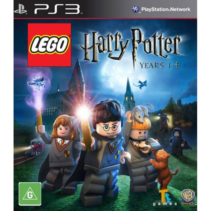 LEGO HARRY POTTER YEARS 1-4 PS3 OYUNU
