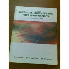CHEMICAL ENG�NEER�NG THERMODYNAM�CS J.M.SM�TH