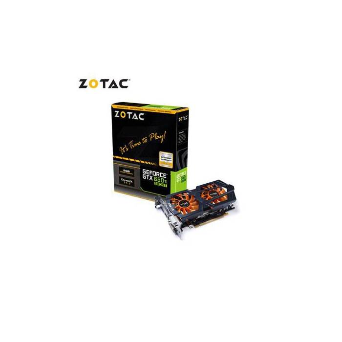 ZOTAC GEFORCE GTX 650 T� BOOST, 2 GB, 192 B�T, G