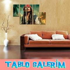 5 PAR�A KANVAS TABLO 150X100cm KARAY�P KORSANLAR