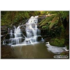 100X70 KANVAS TABLO WATERFALLS AUSTRAL�A PARKS G