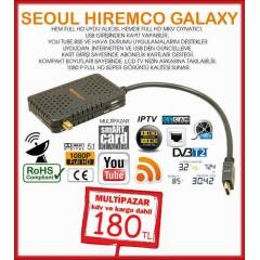 H�REMCO GALAXY FULL HD M�N� UYDU ALICISI