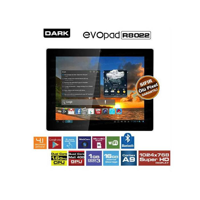 DARK EVOPAD r8022 TABLET
