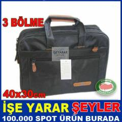 "FONKS�YONEL 3CEP 15.4"" LAPTOP NOTBOOK �ANTASI"