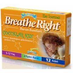 Breathe Right Burun Band� �ocuklar i�in 12 Adet