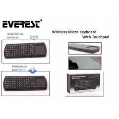 Everest IPKB250FTUK Bluetooth Kablosuz klavye