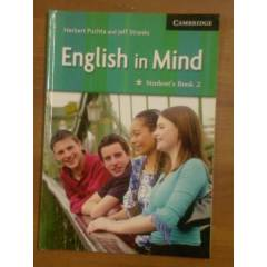 eyk@ ENGLISH IN MIDE STUDENT'S BOOK 2 CAMBRIDGE