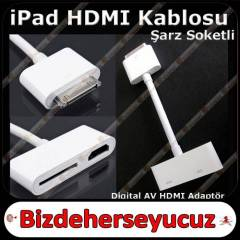 APPLE iPad 2 HDM� Kablo Baglant� Adapt�r�
