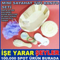 AH�AP KAPLI NATUREL 6l� FULL BANYO KESE SET