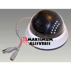 480 TVL 22 LED 3,6 MM GECE G�R��L� DOME KAMERA