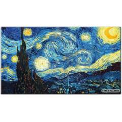 100X70 KANVAS TABLO VAN GOGH STARY NIGHT