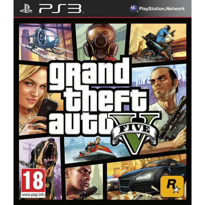 PS3 GTA 5 Grand Theft Auto V PAL SIFIR KUTUSUNDA