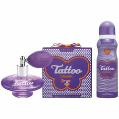Tattoo Charm Edt 50 Ml Kad�n + Deo+�anta