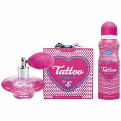 Tattoo Pass�on Edt 50 Ml Kad�n + Deo+�anta