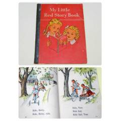 MY LITTLE RED STORY BOOK- �NG�L�ZCE �OCUK K�TABI