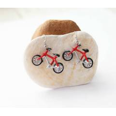 Bisiklet K�pe - Bicycle Earrings