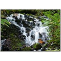 50x70 KANVAS TABLO WATERFALLS PARKS AUSTRAL�A YA