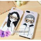 iPhone 5 3d K�l�f HappyMori Boy Girl Pack Kapak