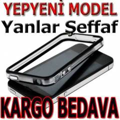 YEN� MODEL �EFFAF iPHONE 4 BUMPER �ER�EVE S�YAH