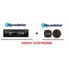ROADSTAR RDC2038 CD/USB/SD/RAD�O+ROADSTAR RDH414
