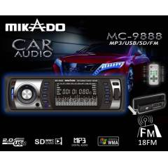 MIKADO MC-9888 ARABA TEYBI MP3/USB/SD/FM DESTEK