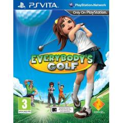 EVERYBODYS GOLF PS VITA OYUNU SIFIR AMBALAJINDA