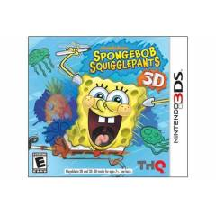 SPONGEBOB SQUIGGLEPANTS 3DS OYUNU SIFIR