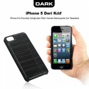 Dark iPhone 5 Stand ve Koruyucu K�l�f Kau�uk