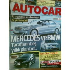 AUTOCAR HAZİRAN 2007-MERCEDES VE BMW*COUPE