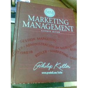 MARKETING MANAGEMENT 2003  /KARGO B�ZDEN