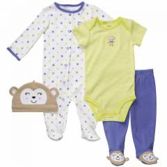 CARTERS KIZ BEBEK BERE BAD� TULUM PANTOLON SET