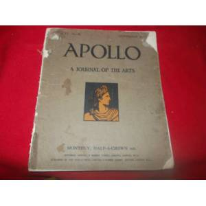 APOLLO A JOURNAL OF THE ARTS   ........MHMT