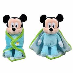 Disney Battaniyeli Mickey Pelu� 25 cm