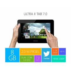 "PIRANHA ULTRA II TAB 7""***Wi-Fi*8GB*1GB*2MP*2MP"