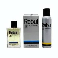 REBUL SILVERLINE EDT 110 ML + DEO 150 ML SET