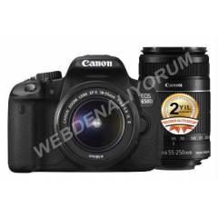 Canon EOS 600D 18-55mm 55-250mm REBEL T3�
