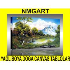 YA�LIBOYA DO�A CANVAS (KANVAS) TABLOLAR