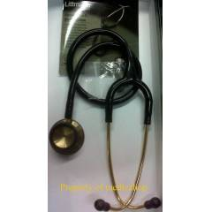 Littmann Klasik Stetoskopu Brass Finish Black Tu